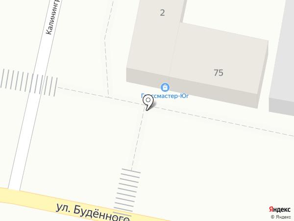 Раки House на карте Краснодара