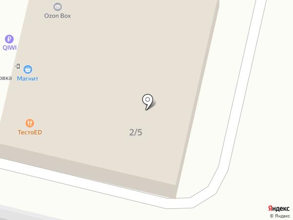 ЮРОКНО на карте Краснодара