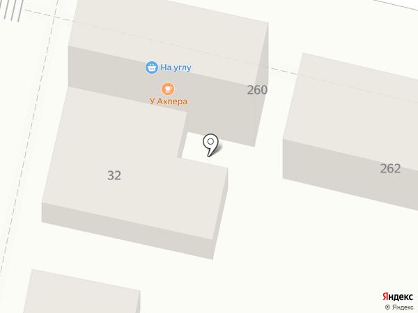 На углу на карте Краснодара