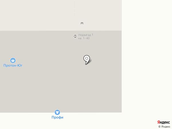 Водомер на карте Краснодара