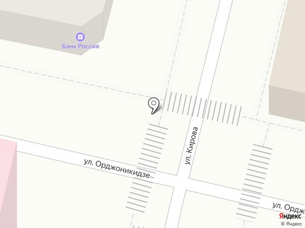 Орто-плюс на карте Краснодара