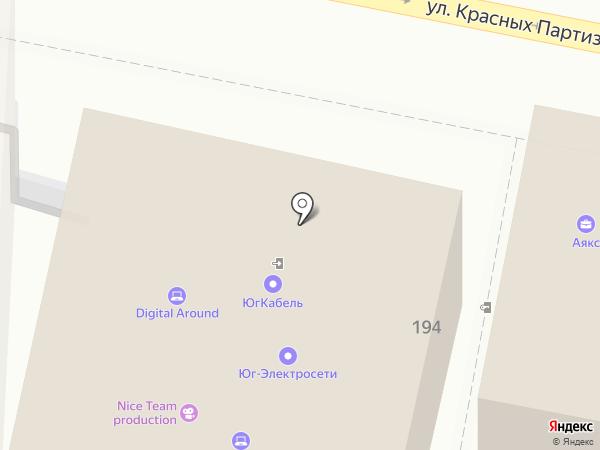Профсоюз на карте Краснодара