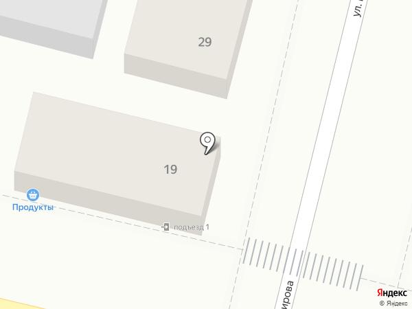 Марсель на карте Краснодара