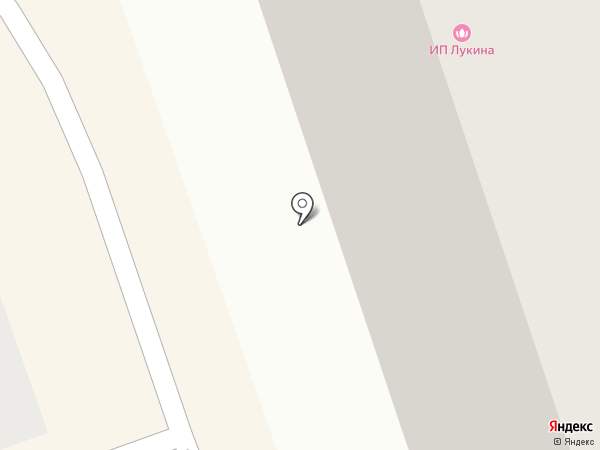 Силуэт на карте Краснодара