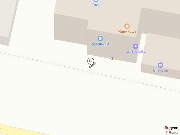 Каприз на карте Краснодара