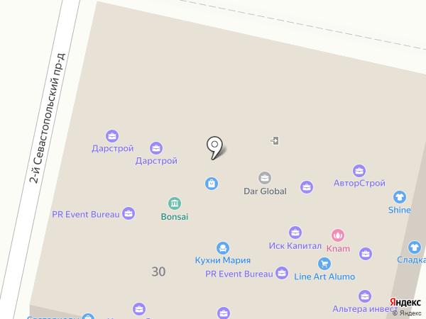 Dar global на карте Краснодара