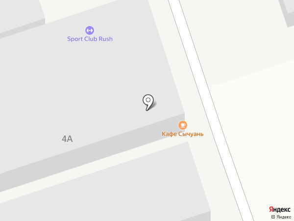Сычуань, ресторан на карте Краснодара