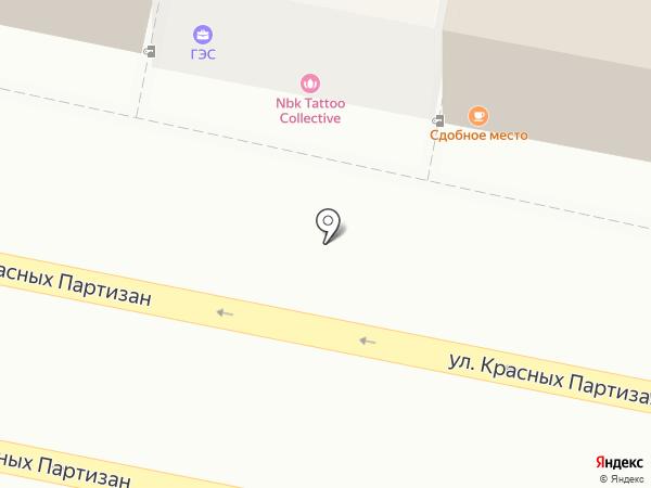 Галерея Электрики и Света на карте Краснодара