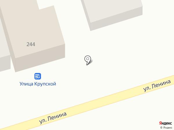 Абрикос на карте Новотитаровской