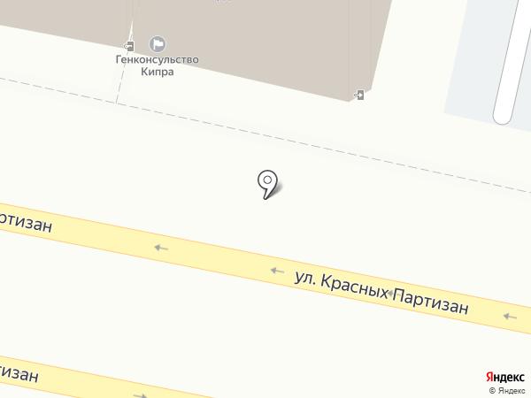 Генеральное консульство Республики Кипр на карте Краснодара