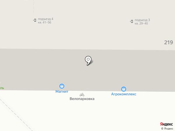 Апрель на карте Краснодара