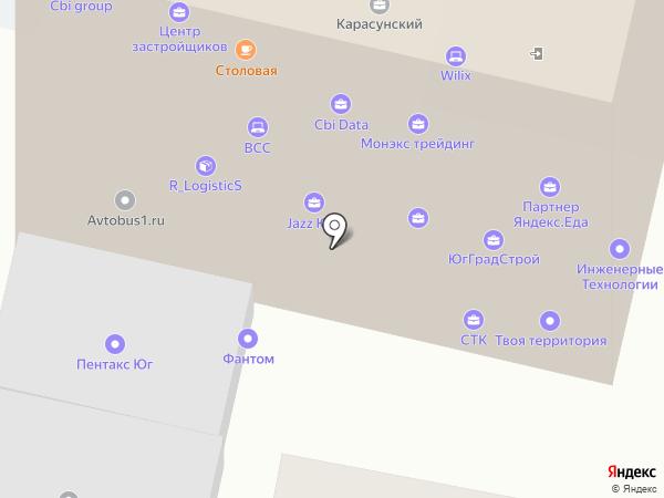КБ ДельтаКредит на карте Краснодара