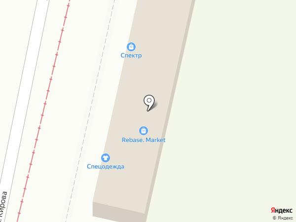 Магазин электротехнической продукции на карте Краснодара