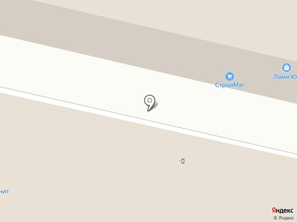 Магазин напольных покрытий на карте Краснодара