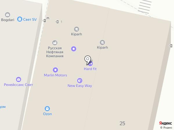 Marlin Motors на карте Краснодара