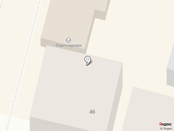 Отделение административного надзора отдела участковых уполномоченных полиции и по делам несовершеннолетних на карте Краснодара