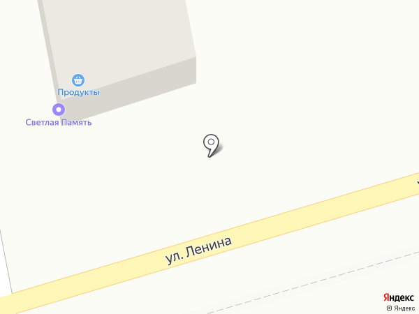 Светлая Память на карте Новотитаровской
