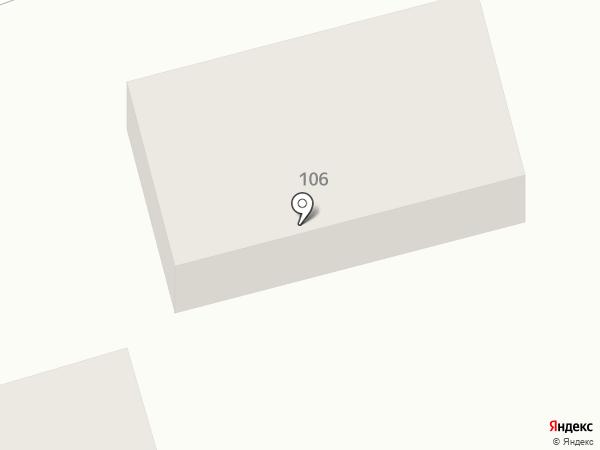 Домашний на карте Новотитаровской