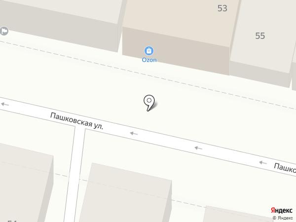 Ракицентр на карте Краснодара