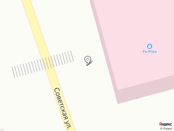 Магазин овощей и фруктов на карте Новотитаровской