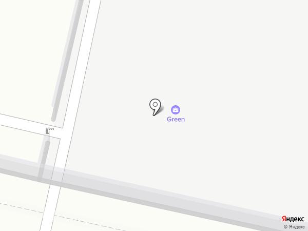 Грин на карте Краснодара