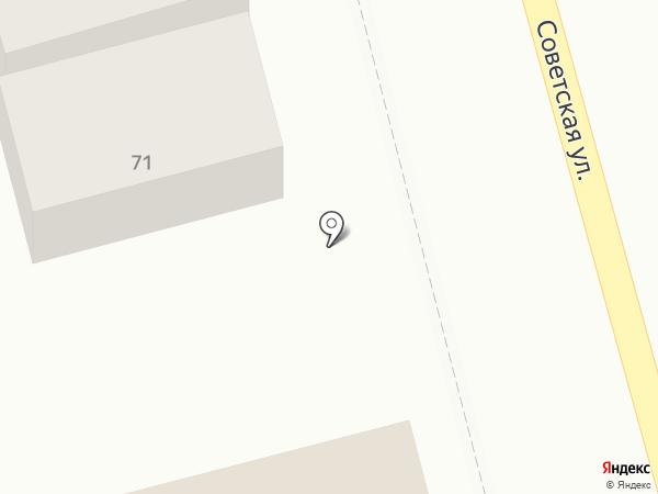 Мегафон на карте Новотитаровской