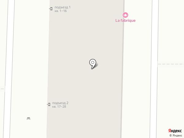 Эвелина на карте Краснодара