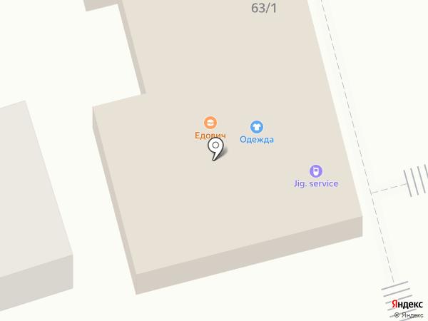 Парикмахерская на Советской (Новотитаровская) на карте Новотитаровской