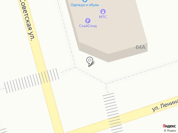Магазин кожгалантереи на карте Новотитаровской