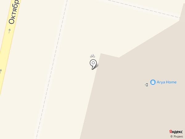 Мегафон на карте Краснодара