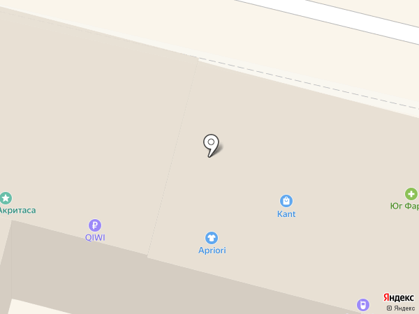 Апарт-Уют на карте Краснодара