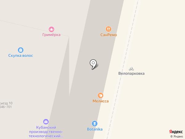 Интернет в каждый дом на карте Краснодара