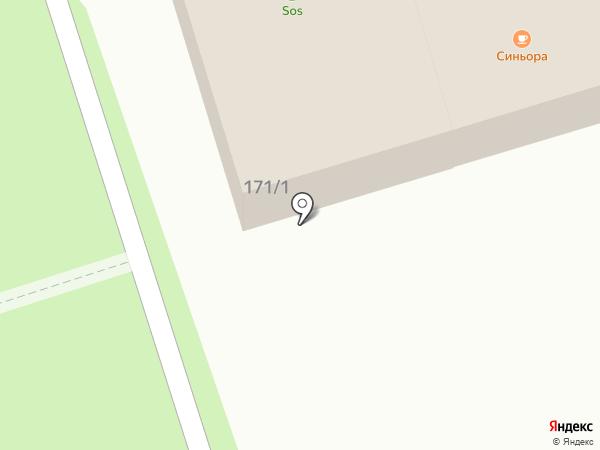 Семейная аптека на карте Новотитаровской