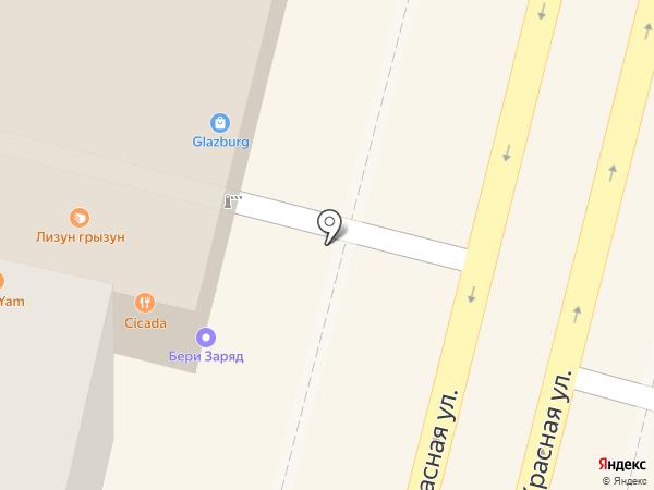 Траектория Дисконт на карте Краснодара