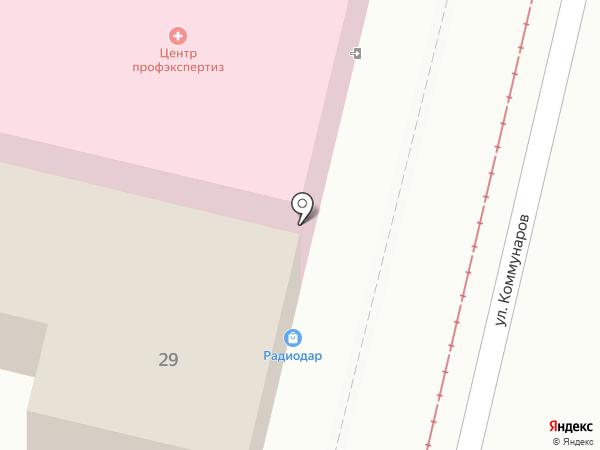 Верификатор на карте Краснодара