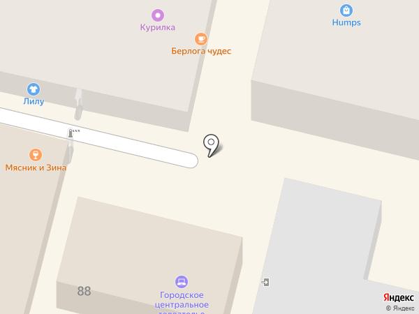 Krasnobike на карте Краснодара