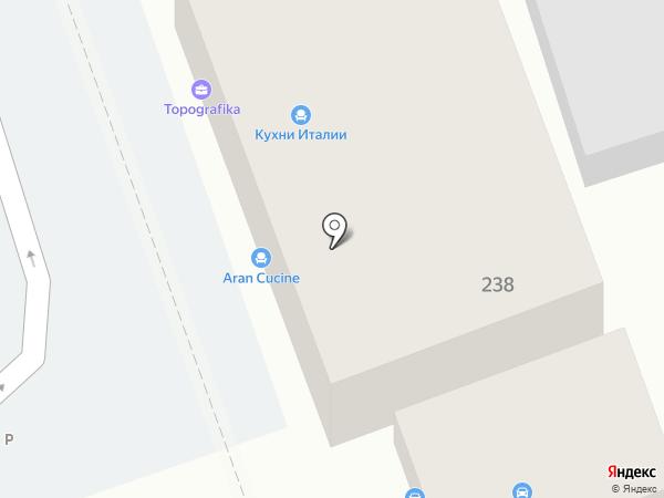 Волховец на карте Краснодара