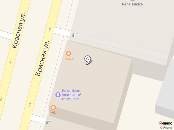 High Point на карте Краснодара