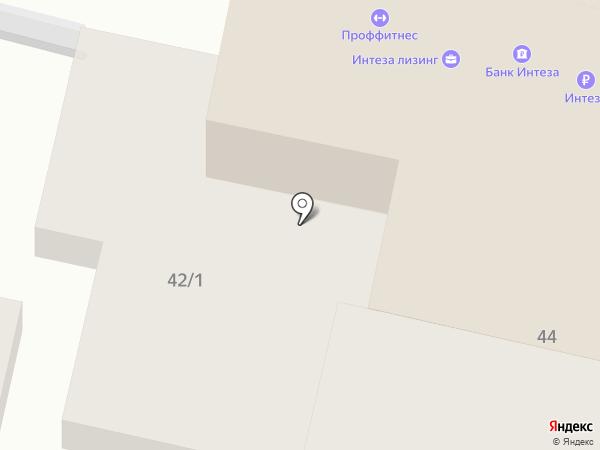 Визовый центр Италии в г. Краснодаре на карте Краснодара