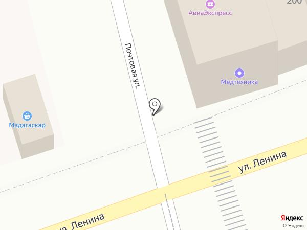Юридическая компания на карте Новотитаровской