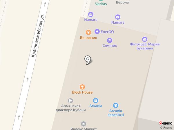 Palma на карте Краснодара