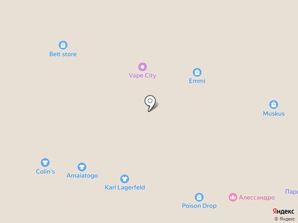 Bantikov на карте Краснодара