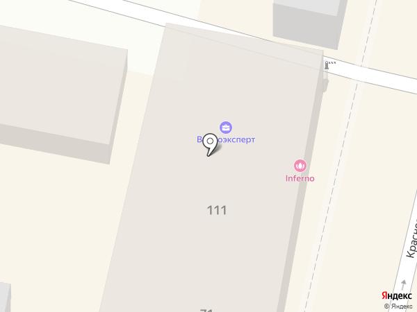 Италмебель на карте Краснодара