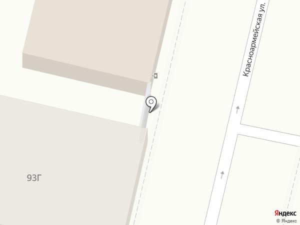 АМАКС-Строй на карте Краснодара