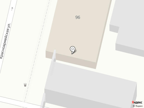 Оzone-Краснодар на карте Краснодара