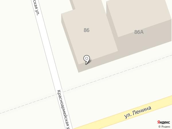 Продовольственный магазин на ул. Ленина (Новотитаровская) на карте Новотитаровской
