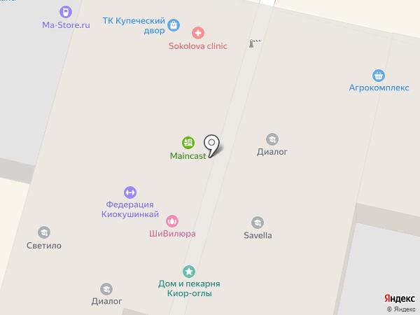 БалтБет на карте Краснодара