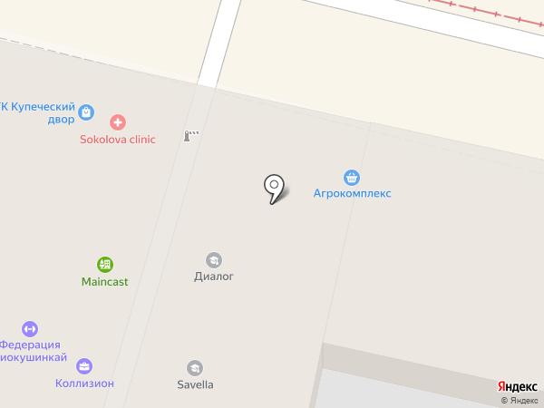 Холодит на карте Краснодара
