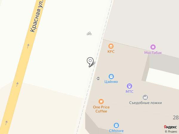 KFC на карте Краснодара