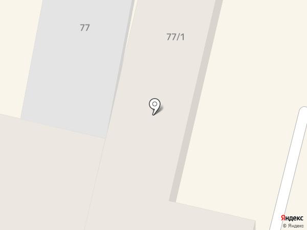 Венец на карте Краснодара